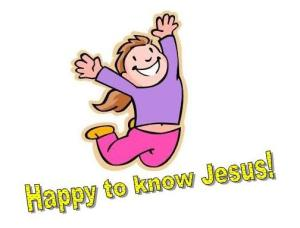 Happy 2 know Jesus