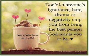 Coffee Break with God