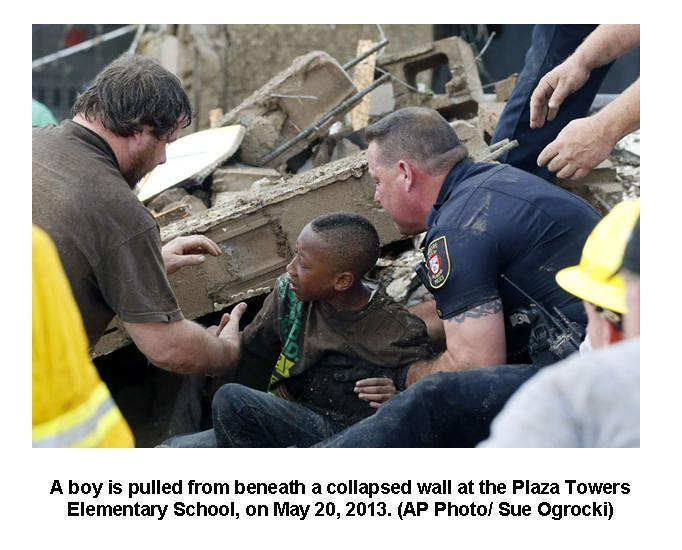 Boy saved in OK