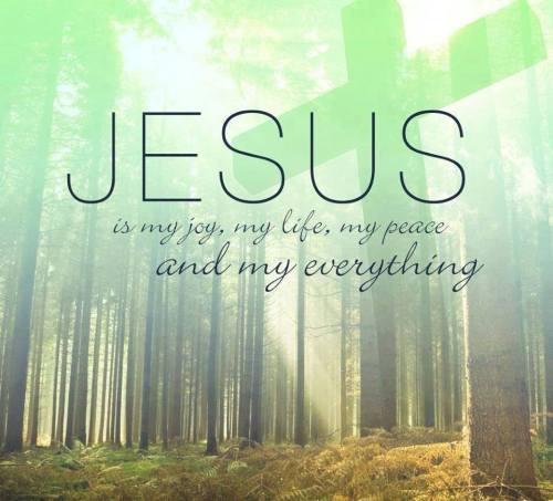 Jesus is my joy