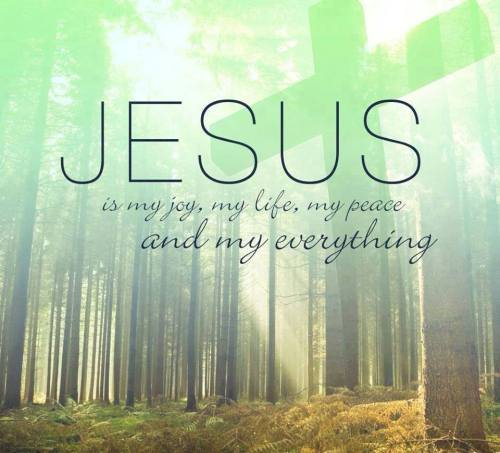 Jesus is my joy