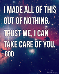 God is Taking Care of You
