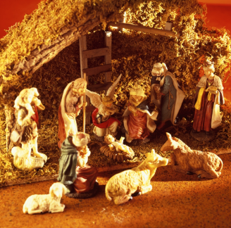 Christ - Manger