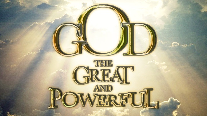 GOD is great and powerful