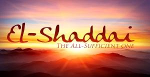 almighty God-elshaddai